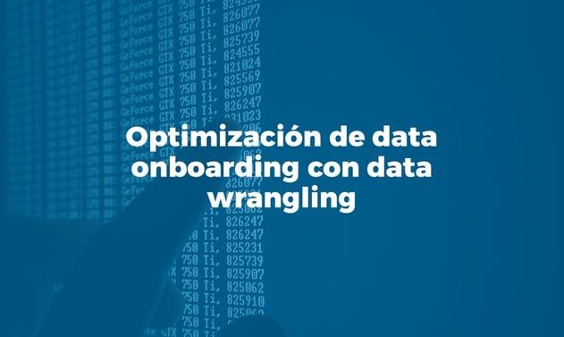 Bismart data onboarding data wrangling Azure