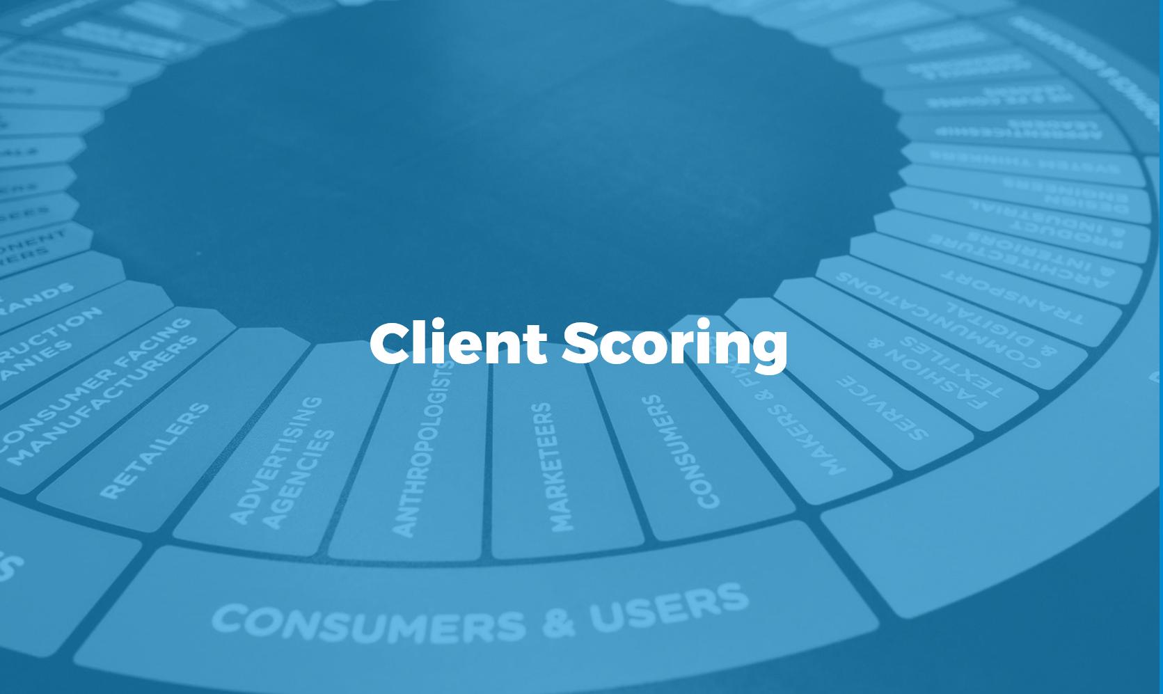 Client scoring