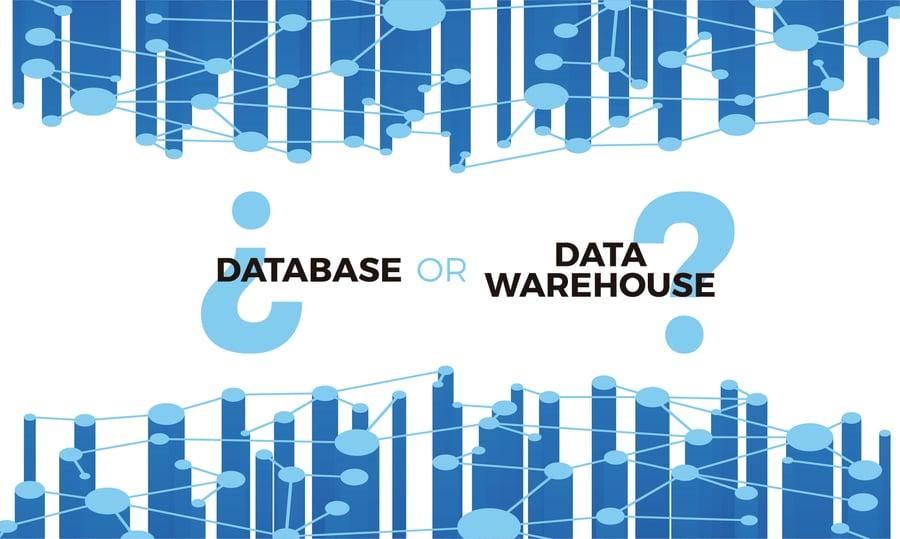 Database or datawarehouse