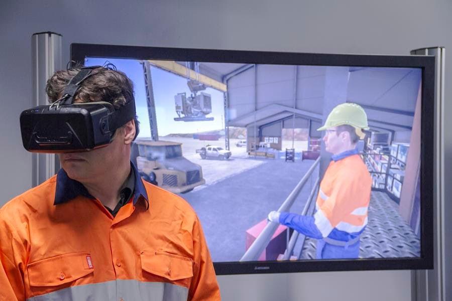 Immersive VR training Bismart