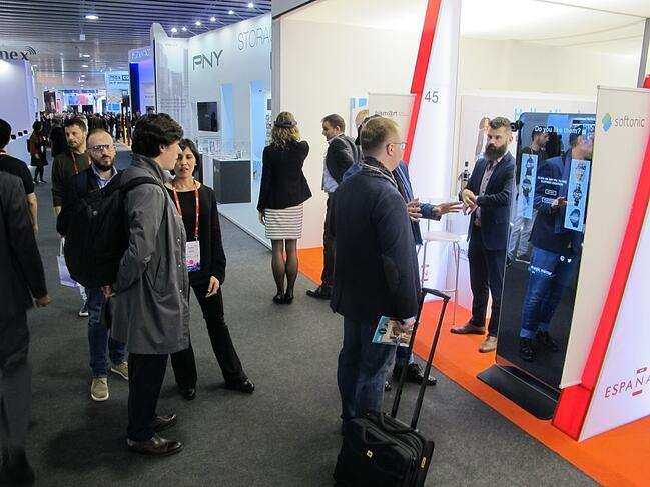 Bismart Magic Mirror Mobile World Congress 2017