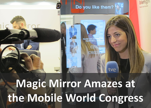 Magic Mirror at MWC