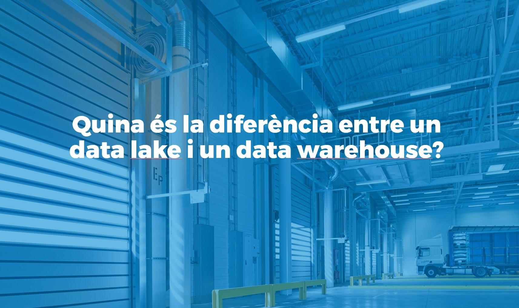 Quina és la diferencia entre un data warehouse i un data lake
