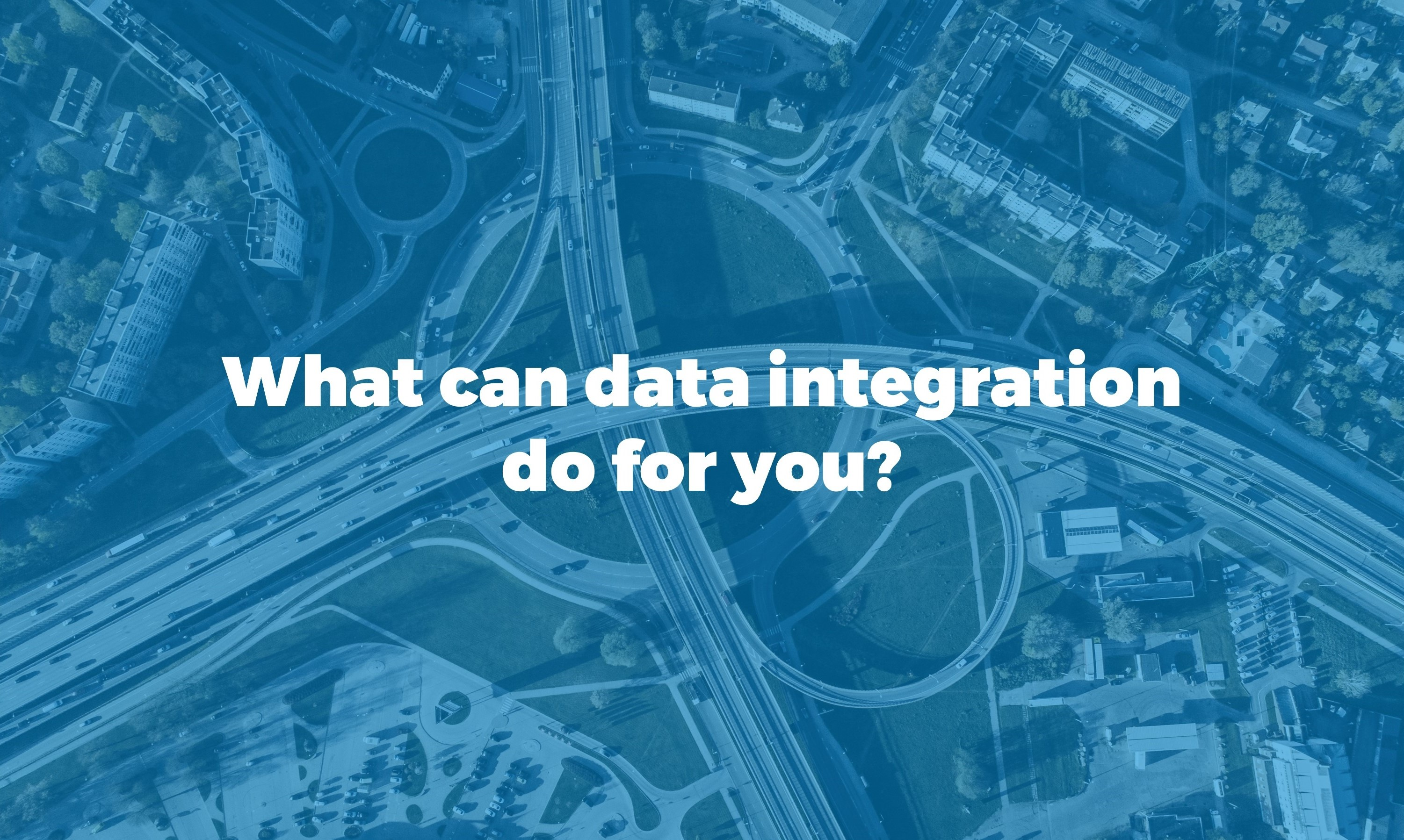 the importance of data integration