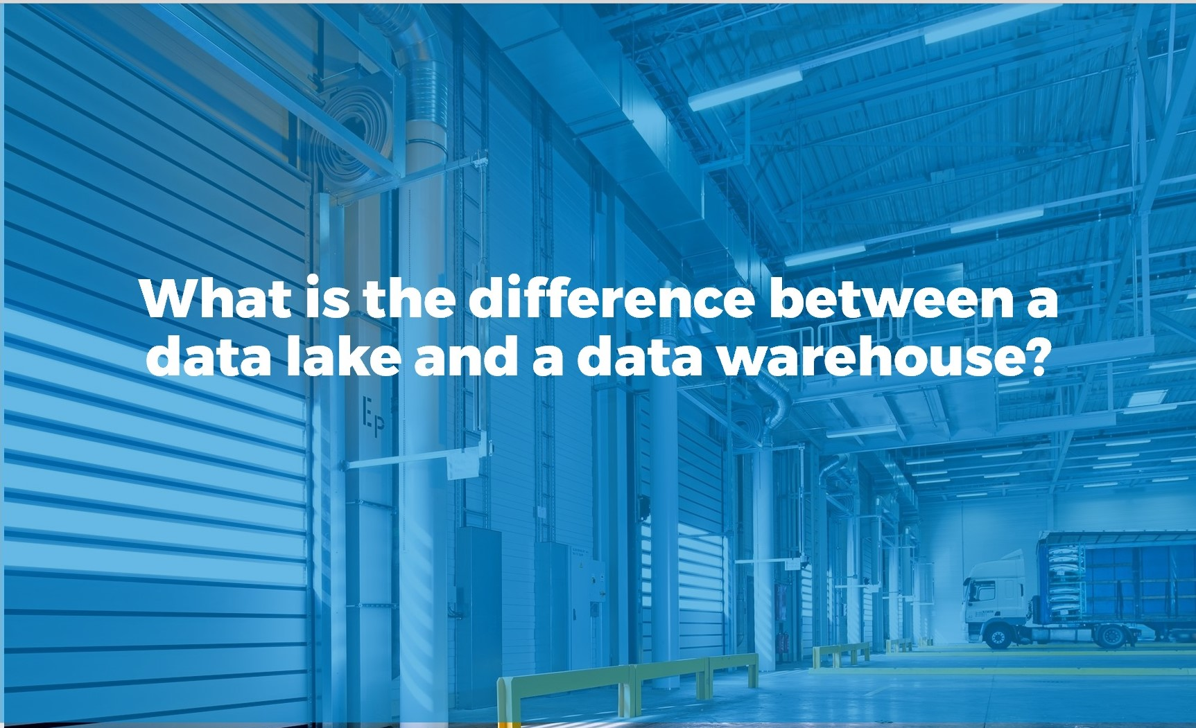 what is the difference between a data lake and a data warehouse