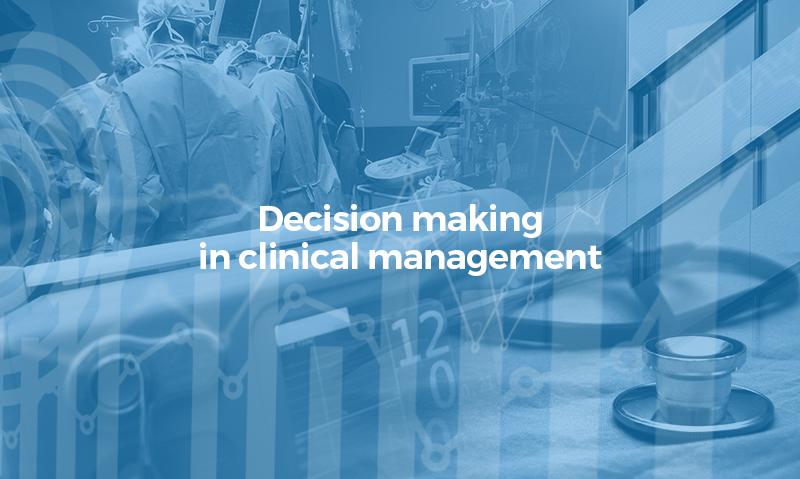 Toma de decisiones en la gestión clinica EN